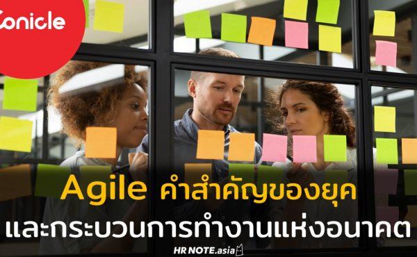 Agile คำสำคัญของยุค และกระบวนการทำงานแห่งอนาคต